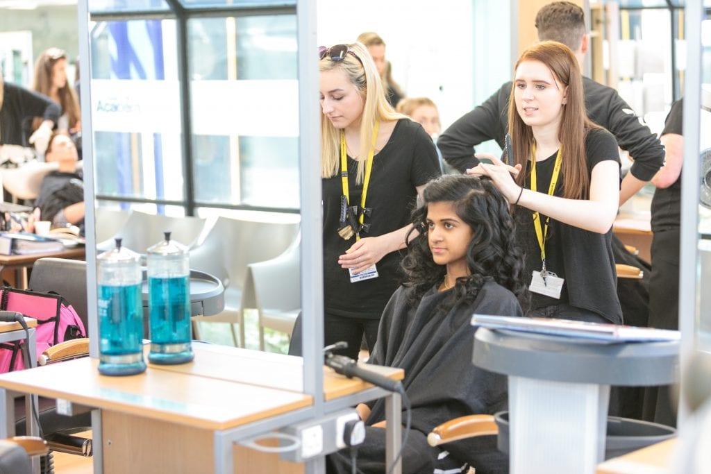 The Hair & Beauty Academy - Farnborough College of Technology