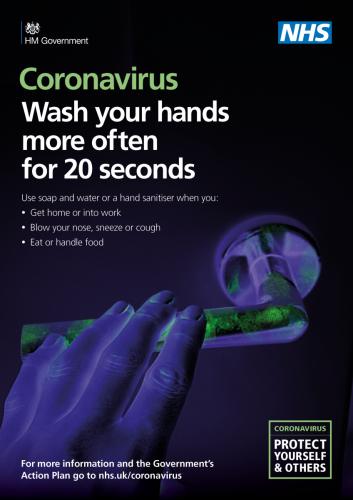 NHS Handwashing Poster